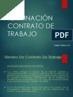 Término de relación laboral Diplomado 2019 (159 a 160 Nº4)