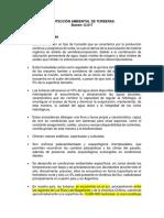 ANTE VOTACIÓN DE PROYECTO DE PROTECCIÓN AMBIENTAL DE TURBERAS