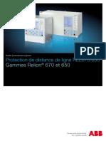 1MRK506311-SFR Fr Protection de Distance de Ligne REL670 650