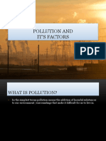 Pollution And It's Causes