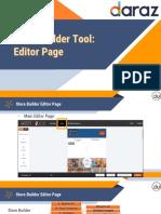 Daraz online Store Builder Tool- Guide