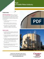 Columbian TecTank Potable Water Industry Datasheet