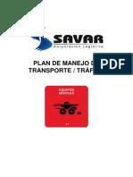 1. Plan de Manejo de Transporte Trafico
