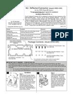 Deflector Connector Manual