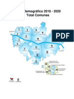 Perfil Demográfico 2016 - 2020 Total Comunas