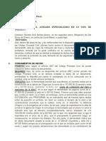 INTERPONGO TACHA - Proceso de Obligacion de Dar Suma de Dinero