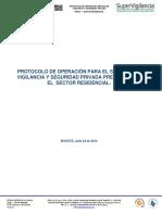 01 Protocolo de Operacion SVSP Para El Sector Residencial