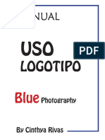 Manual de Marca Blue Photography