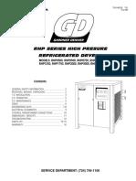 secador alta presión Gardner Denber serie rhp