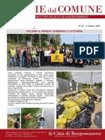 Notizie Dal Comune di Borgomanero dell'11-10-2019