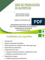 Facilidades de Superficie