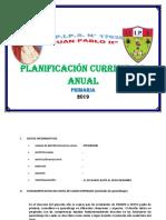 Planificación Curricular Anual - General
