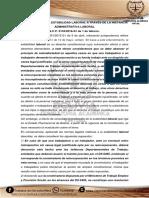 Protección de La Estabilidad Laboral a Través de La Instancia Administrativa Laboral