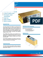 Power Supply Datasheet