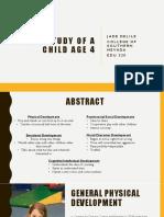 edu 220 - case study of a child age 4
