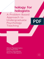 Psychology for Psychologits