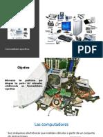 Periféricos que integran las partes del ordenador