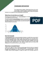Standard and Quartile Deviation