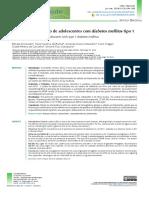 Adherencia Al Tratamiento de Adolescnetes Con Diabetes Mellitus Tipo 1