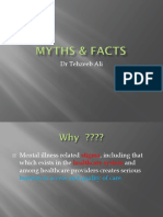 myths about mental illness