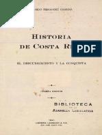 Historia de Costa Rica el descubrimiento y la conquista.pdf
