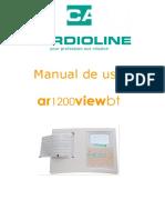 Electrocardiógrafo Ar1200viewbt Manual de Uso Versión 3 Ene 12