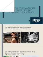 3mA - Araus, Alarcón F, Severino, Sepúlveda, Silva - SIGNIFICADO de SUEÑOS