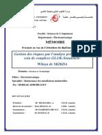 Memoire de fin de formation