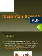 TUBERIAS Y BOMBAS