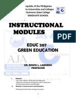 Green Education Module(1)