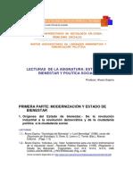 Estado Del Bienestar y Politica Social - Alvaro Espina