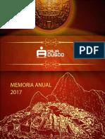 Memoria 2017 Cus Co
