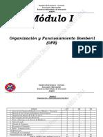 Módulo I PNF Bomberos Universitarios Pensum