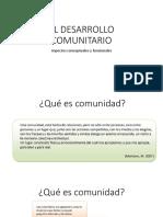 El Desarrollo Comunitario (2)