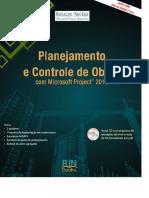 Planejamento e Controle de Obras Com Microsoft Project 2016