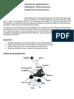 Guía Lab N°1-Microscopía y tipos de células