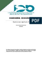 INGENIERÍA  ECONÓMICA ejercicios capiulo2.docx