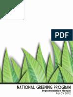 National Greening Program