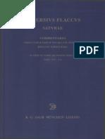 Persius Flaccus Saturae