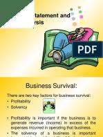 Ratio and Fs Analysis