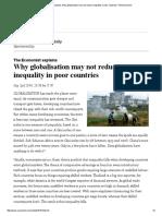 Economist Globaization Inequality