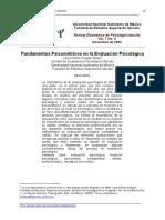 2. Fundamentos Psicométricos En La Evaluación Psicológica - Laura Aragón.pdf
