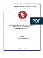 Fundamentals and Practice of Vietnams Tax Laws