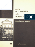 Anais II Seminario Casa Museu