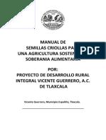 Manual Manejo de Semillas Criollas