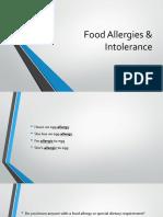 Food allergic