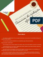 ANGNES, J.S. Técnicas de Redação Oficial (1)