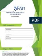 Syl-Van Company Profile