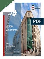 Auditoria en Impuestos UNAB - Unidad VIII.pdf