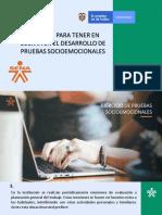 PRUEBAS SOCIOEMOCIONALES